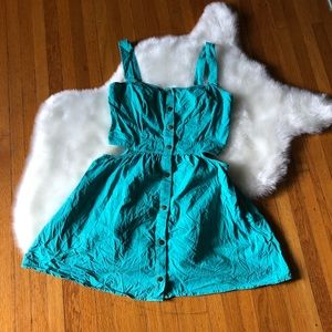 Dresses & Skirts - Tank, Cut Out, Mini Dress